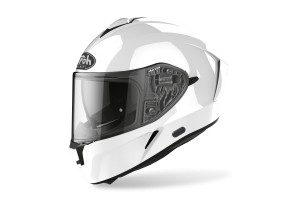 KASK AIROH SPARK  COLOR WHITE GLOSS)