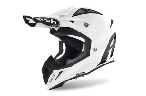KASK AIROH AVIATOR  ACE COLOR WHITE GLOSS