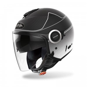 KASK AIROH HELIOS MAP BLACK MATT