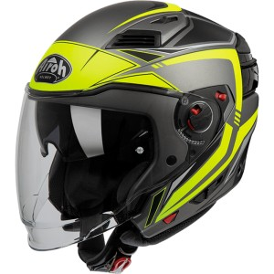 KASK AIROH EXECUTIVE LINE YELLOW MATT