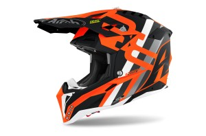 KASK AIROH AVIATOR 3 RAINBOW ORANGE MATT
